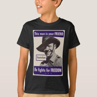 T-shirt Australiano de WWII