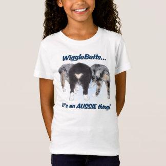 T-shirt australiano do pastor