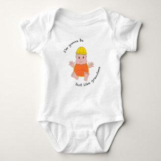 T-shirt Avó do trabalhador da construção