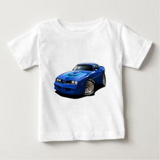 T-shirt Azul 1977-78 do transporte Am