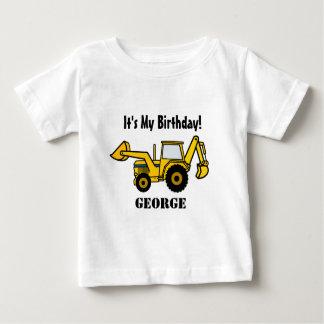 T-shirt Backhoe do divertimento da construção