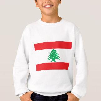 T-shirt Baixo custo! Bandeira de Líbano