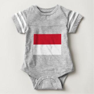 T-shirt Baixo custo! Bandeira de Monaco