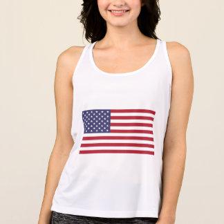T-shirt Bandeira americana
