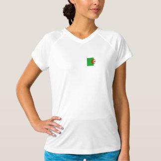 T-shirt Bandeira de Argélia