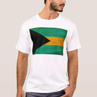 T-shirt Bandeira de Bahamas