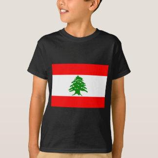 T-shirt Bandeira de Líbano