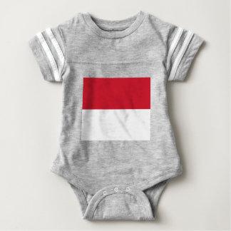 T-shirt Bandeira de Monaco - Drapeau de Monaco