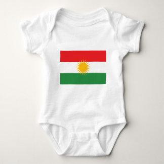 T-shirt Bandeira do Curdistão (Curdistão de Alay ou Alaya