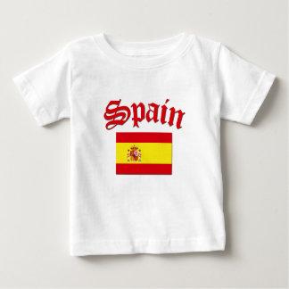 T-shirt Bandeira espanhola