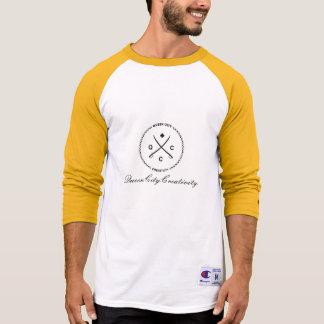 T-shirt Basebol-T de QueenCityCreativity/campeão