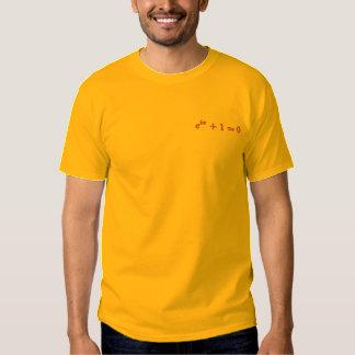 T-shirt básico: A identidade de Euler pequena,