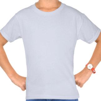 T-shirt básico de Hanes das meninas feitas sob enc