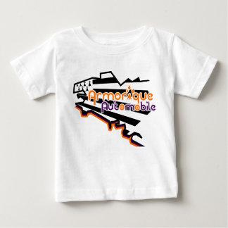 T-shirt Bebé Armorique Automóvel (coração)