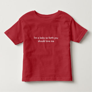 T-shirt Bebê, engraçado, bonito