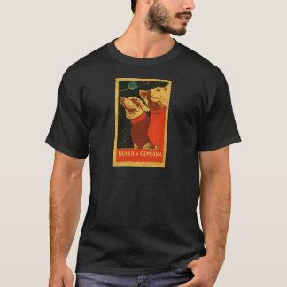 T-shirt Belka e Strelka