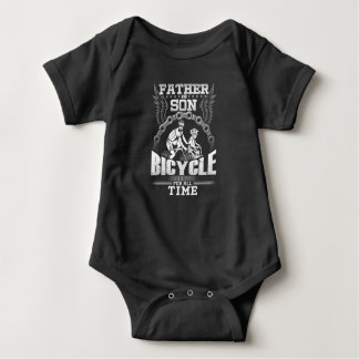 T-shirt Bicicleta do filho do pai
