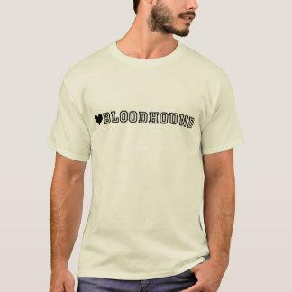 T-shirt BLOODHOUND (do coração)