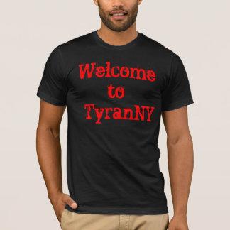 T-shirt Boa vinda à tirania