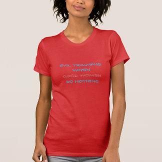 T-shirt Boas mulheres