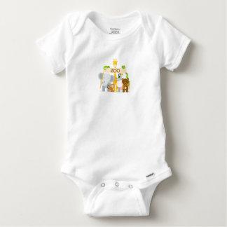 T-shirt Body Algodão Bebé Animal