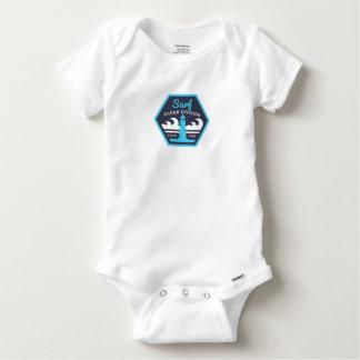 T-shirt Body Algodão Bebé Surf