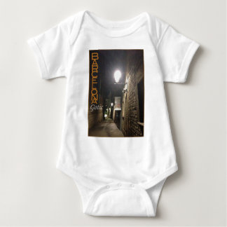 T-shirt Bodysuit da baía de Barcelona Gotico