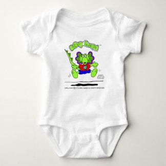 T-shirt Bodysuit do bebê do lagarto de LeRoy