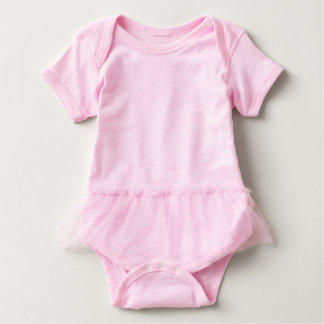 T-shirt Bodysuit do tutu do bebê