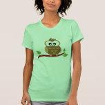 T-shirt bonito da coruja