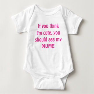 T-shirt bonito da mãe
