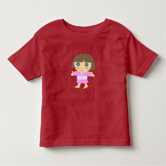 T-shirt bonito para a menina
