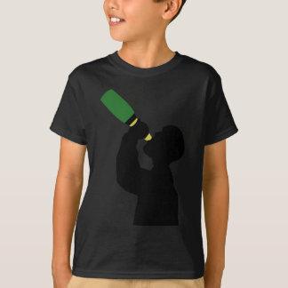 T-shirt boozer do aniversário do champanhe