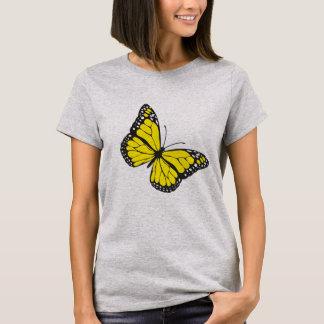T-shirt Borboleta amarela