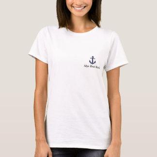 T-shirt Borrachos do barco de Skye