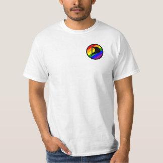 T-shirt branca - Rainbow