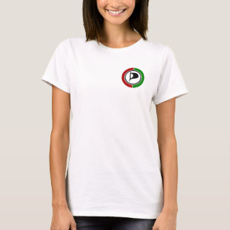 T-shirt branca - Símbolo PPP