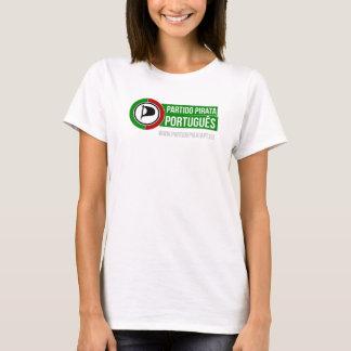 T-shirt branca - Símbolo PPP - Feminina