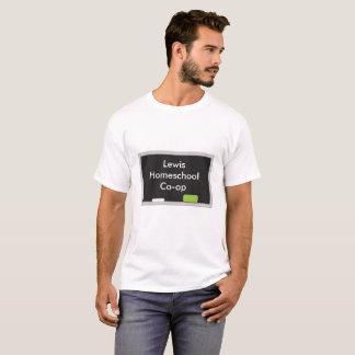 T-shirt Branco Home da capoeira da escola