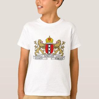T-shirt Brasão de Amsterdão