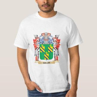 T-shirt Brasão de Gillis - crista da família