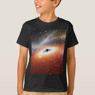 T-shirt Buraco negro maciço de NASAs