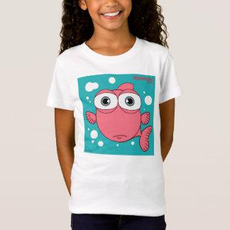 T-shirt cabido Bella da boneca das meninas