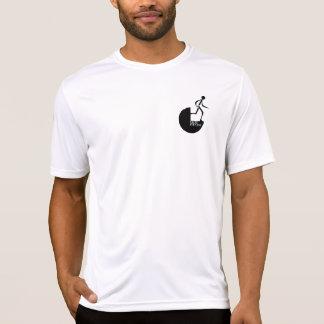T-shirt cabido Esporte-Tek do desempenho dos
