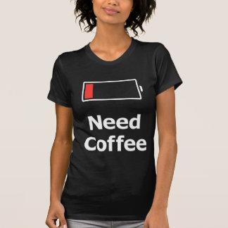 T-shirt Café da necessidade
