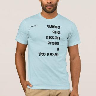 T-shirt Caiaque de Tito