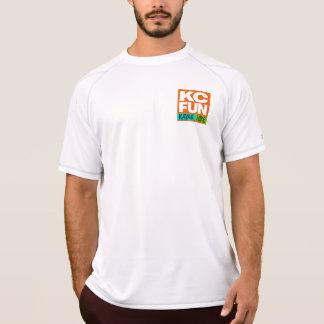 T-shirt Caiaque do DIVERTIMENTO do KC/t-shirt seco dobro