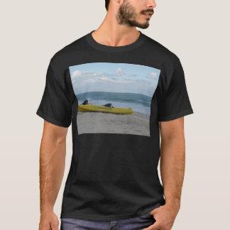 T-shirt Caiaque do oceano na cabeça dos Nags