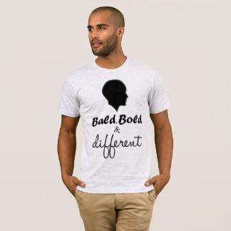 T-shirt Calvo, corajoso & diferente