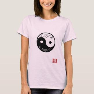 """T-shirt Cam. Fem. """"Virgem+Peixes"""""""